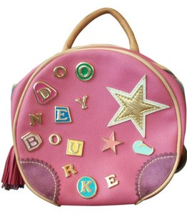 Dooney & Bourke Leather Charms Suede Backpack
