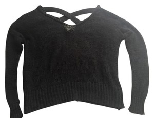 Sparkle & Fade Crisscross Cut Out Sweater