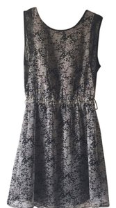 MM Couture short dress Black, floral print on Tradesy