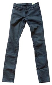 AllSaints Forster Ashby Stretch Coated Rare Urban Low Rise Skinny Jeans-Coated