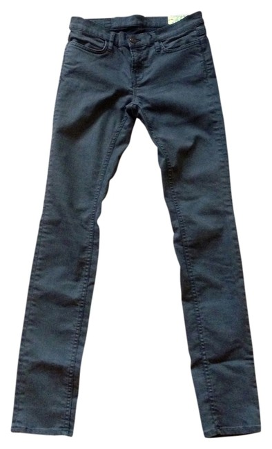 Item - Brown Coated Forster Ashby Skinny Jeans Size 28 (4, S)