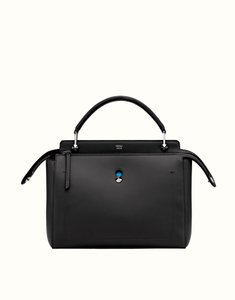 Fendi Satchel in Black/Blue