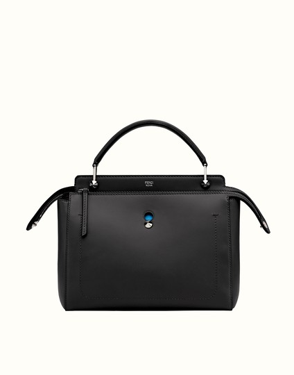Preload https://img-static.tradesy.com/item/12222796/fendi-dotcom-blackblue-leather-satchel-0-3-540-540.jpg