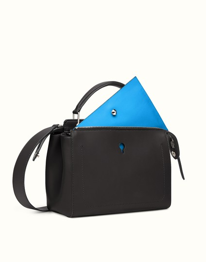 Fendi Satchel in Black/Blue Image 1