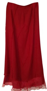 Maxi Skirt Dark red