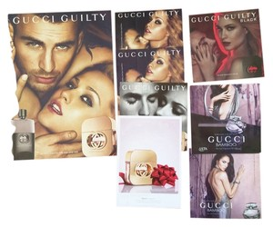 Gucci Gucci Guilty and Black and Bamboo perfume paper sample