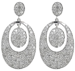 ABC Jewelry BIG Diamond Dangle Earrings