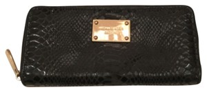 MICHAEL Michael Kors Jet Set Python Embossed Continental Wallet