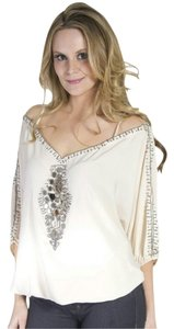 Romeo & Juliet Couture Top Creamy White