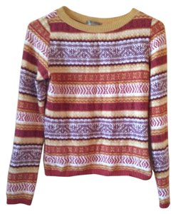 Muchacha Wool Viscose Polyester Acrylic Made In Spain Longsleeve Sweater