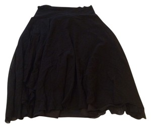 Only Hearts Gauze Nylon Skirt Black