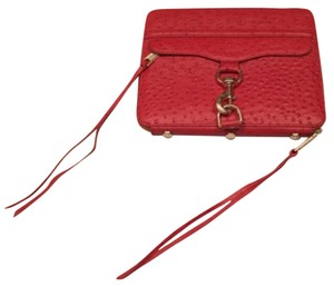 Rebecca Minkoff MAC Ostrich Embossed Leather iPad Case