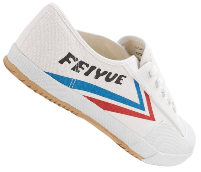Item - White Fe Lo Canvas Sneakers Size US 7 Regular (M, B)