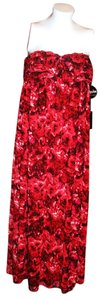 Reds Floral Maxi Dress by Giambattista Valli Long