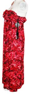 Reds Floral Maxi Dress by Giambattista Valli Red