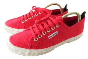 Superga Sneakers Tennis Rubber Red Athletic