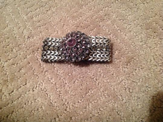 Other Silver Magnetic Stone Bracelet