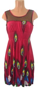 Other short dress Fuchsia on Tradesy