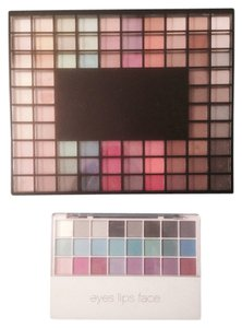 e.l.f. Set of 2 E.L.F. Cosmetics Makeup Eyeshadow Palettes Lots - 132 Shades Pieces