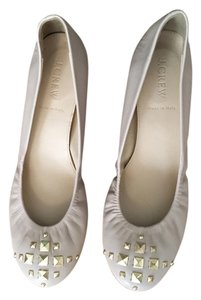J.Crew Studded Pale Pink/Nude Flats