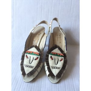 Paradox Vintage Slingback Multi-colored Sandals