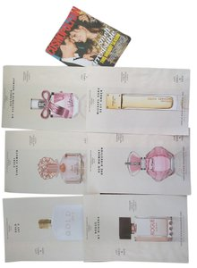 Vince Camuto Fragrance Foundation doubles plus Cosmo multi pack paper samples