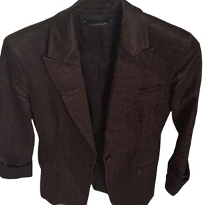Elie Tahari Brown Jacket