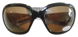 Ellen Tracy NEW FASHION ELLEN TRACY BLACK/TANSUNGLASSES