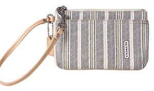 Coach Wallet Wristlet in Black/White