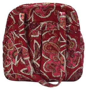 Vera Bradley Tote in Red/Pink Pattern