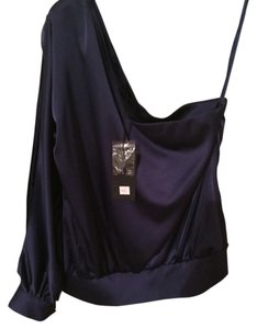 Blaque Label Top Navy Blue
