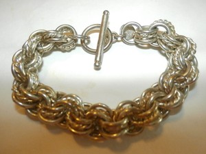 Used Sterling Silver Plated Bracelet Free Shipping