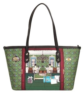 Love Moschino Stylish Tote in green