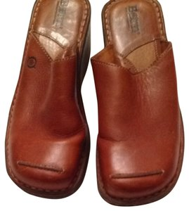 Born Crown Tan Mules