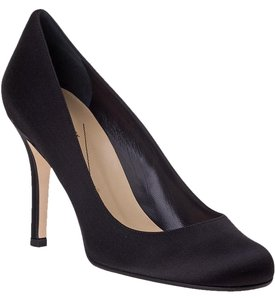 Kate Spade Satin Leather Italian Black Pumps