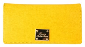 Ralph Lauren * Lauren By Ralph Lauren Newbury Slim Wallet Yellow