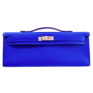 Hermès 32cm Kelly Electric Clutch Epsom Shoulder Bag