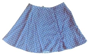 H&M Mini Skirt Blue and white