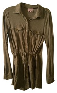 Romeo & Juliet Couture Top Army Green