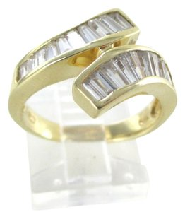 Other 14K YELLOW GOLD RING BYPASS WEDDING BAND ENGAGEMENT 4.1 GRAMS COCKTAIL NO SCRAP