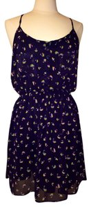 Lush short dress Multi Color Sailboat Printed on Tradesy