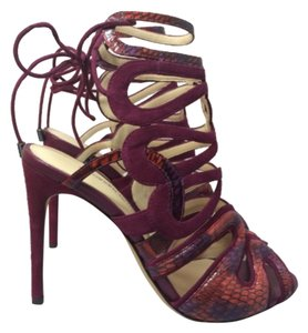 Alexandre Birman Grape Sandals