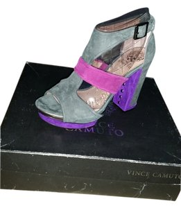 Vince Camuto Color blockin (grey, pink, purple) Platforms