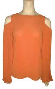 MM Couture Bell Sleeves Top Orange
