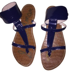 Sam Edelman Navy Blue Sandals