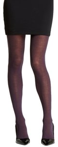 French Curve NEW! Cashmere Blend Plum Tights - S/M