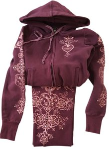 bebe *SALE* NOW $35.00 Plum Bebe Sweatsuit Hard to find