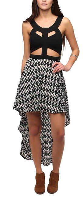 Preload https://item3.tradesy.com/images/urban-outfitters-grey-multi-high-low-night-out-dress-size-8-m-1223252-0-0.jpg?width=400&height=650