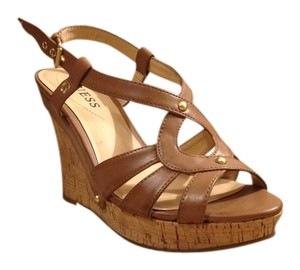 Guess Light brown Wedges
