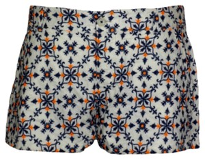 Lucky Brand Mini/Short Shorts Off White/Blue/Orange